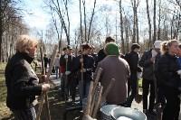 Посадка деревьев в Комсомольском парке, Фото: 5