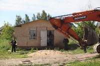 Демонтаж незаконных цыганских домов в Плеханово и Хрущево, Фото: 59