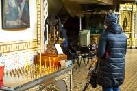 Вербное воскресенье 2020: тульские храмы опустели, Фото: 19