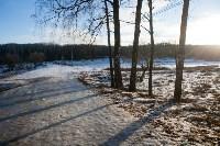 Вырубка купели в Центральном парке. 16.01.2015, Фото: 7