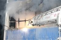 Пожар на складе ОАО «Тулабумпром». 30 января 2014, Фото: 12