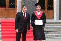 Владимир Груздев поздравил выпускников магистратуры ТулГУ, Фото: 31