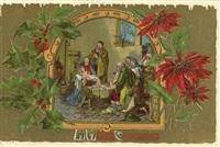Старинные рождественские открытки, Фото: 38