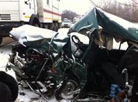 На автодороге Тула-Белев произошло два серьезных ДТП, Фото: 3