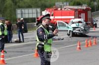 В ДТП под Тулой погибли три сотрудника УФСИН, Фото: 11