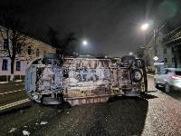 ДТП с автомобилем реанимации в центре Тулы, Фото: 1