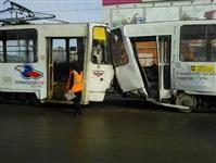 ДТП с участием двух трамваев. , Фото: 1