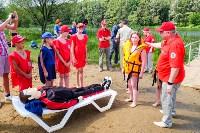 МЧС обучает детей спасать людей на воде, Фото: 19