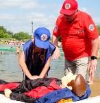 МЧС обучает детей спасать людей на воде, Фото: 33