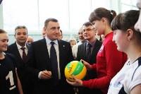 Врио губернатора Тульской области Алексей Дюмин посетил новомосковский ФОК «Мечта», Фото: 3