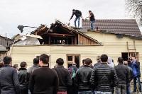Снос дома в поселке Плеханово, Фото: 73