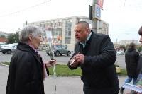Сергей Шестаков поздравляет тулячек с наступающим днем города, Фото: 2