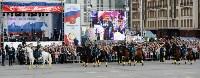 Развод караулов Президентского полка на площади Ленина. День России-2016, Фото: 46