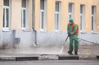 В Туле продолжается масштабная дезинфекция улиц, Фото: 15