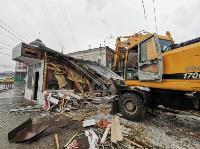 Снос незаконных павильонов в Заречье, Фото: 40
