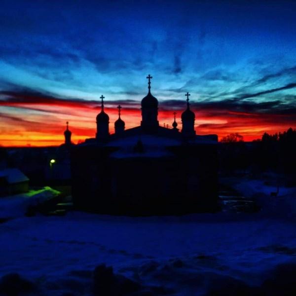 Свято-Введенская Макариевская Жабынская Пустынь. Вечер 17.02.2019