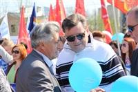 Тульская Федерация профсоюзов провела митинг и первомайское шествие. 1.05.2014, Фото: 83