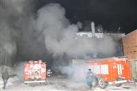 Пожар на складе ОАО «Тулабумпром». 30 января 2014, Фото: 3