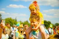 В Туле прошел фестиваль красок и летнего настроения, Фото: 135