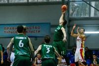 Тульские баскетболисты «Арсенала» обыграли черкесский «Эльбрус», Фото: 49