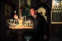 Пасхальная служба в Успенском кафедральном соборе. 11.04.2015, Фото: 29