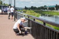 Волонтеры наводят порядок на водоемах Большой Тулы, Фото: 2