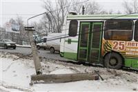 ДТП в Басово: столкнулись два рейсовых автобуса, Фото: 7