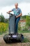 Туляк Виталий Галеев придумал сегвей на гусеницах, Фото: 18