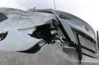 Возле поста ДПС в Плавске столкнулись три иномарки и фура, Фото: 7
