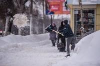 Снегопад в Туле. 19 января 2016 года, Фото: 39