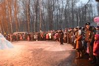 В ЦПКиО сожгли чучело зимы, Фото: 34