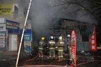 На ул. Оборонной в Туле сгорел магазин., Фото: 14