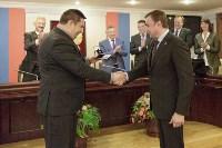Алексей Дюмин получил знак и удостоверение губернатора Тульской области, Фото: 4