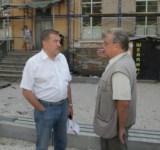 Юрий Андрианов проконтролировал ремонт Дома офицеров и филармонии, Фото: 1