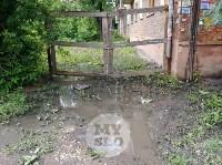 Дворы на Красноармейском проспекте затопило нечистотами, Фото: 17