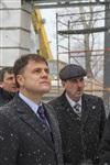 Губернатор посетил строящийся в Богородицке ФОК. 1 апреля 2014, Фото: 5