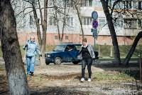 Посадка деревьев во дворе на ул. Максимовского, 23, Фото: 29