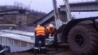 Монтаж моста в Архангельской области, Фото: 17