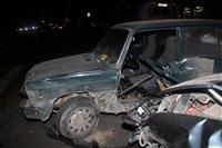 "На ул. Ложевой в Туле Volkswagen протаранил ""семерку"", Фото: 2"
