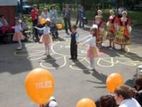 Tele2 подарила игровую площадку малышам с ограниченными возможностями, Фото: 8