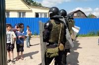 В Плеханово начали сносить дома в цыганском таборе, Фото: 132