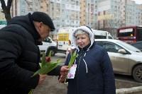 Пролетарский глава Сергей Шестаков поднял тулячкам настроение, Фото: 13