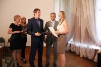 Вручение свидетельства на соцвыплату в Новомосковске, Фото: 5