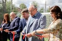 Открытие нового футбольного поля, Фото: 32