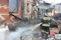 Пожар в цыганском поселении в Плеханово, Фото: 2