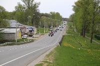Тульские байкеры почтили память героев в Ясной Поляне, Фото: 1