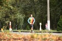 Туляки «погоняли» на самокатах в Центральном парке, Фото: 41