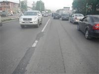 На Новомосковском шоссе столкнулись три автомобиля, Фото: 1