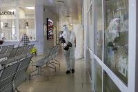 Тульские спасатели продезинфицировали автовокзал «Восточный», Фото: 43