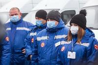 Алексей Дюмин передал региональному Центру медицины катастроф 39 новых автомобилей, Фото: 14